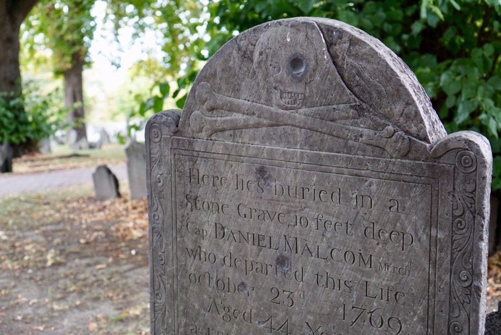 Daniel Malcom grave