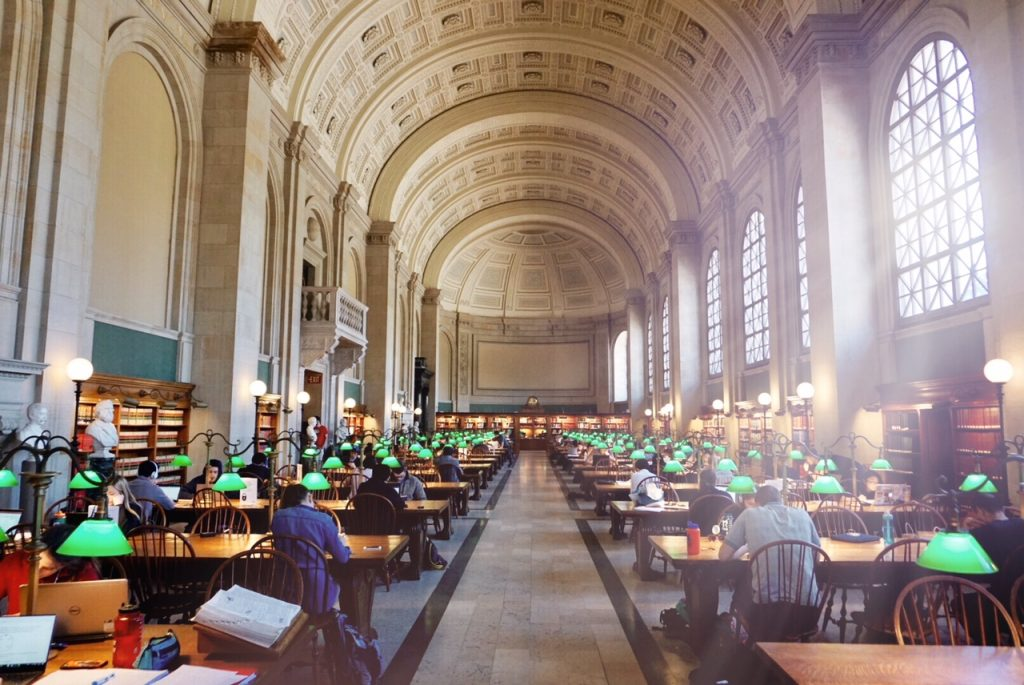 Boston's Secret Library Spaces   How to Travel the Globe % %